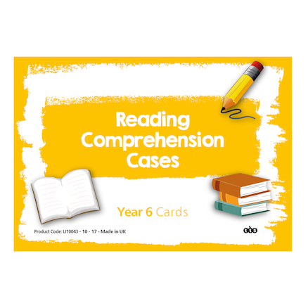 Reading Comprehension Cards Year 6  large