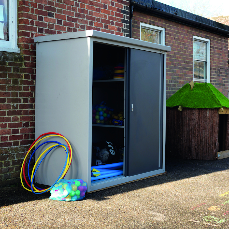 ... Outdoor Metal Storage Shed Small ...