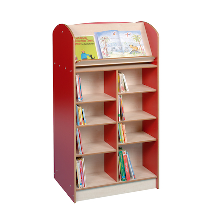 Double Sided Bookcase Height 1500mm  large