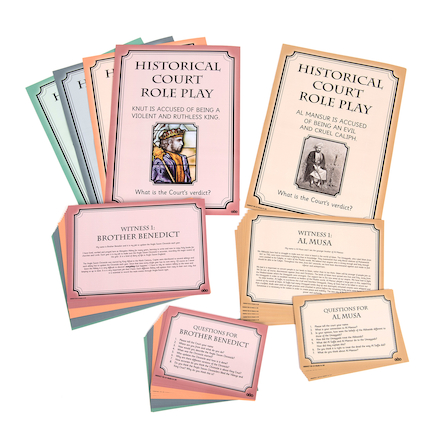 Historical Court Role Play Classroom Game  large