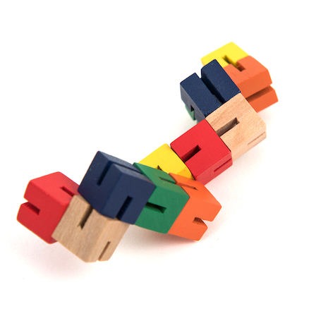 Flexiblox Coloured Fidget  large