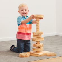 Motor Skills Twist and Turn Tall Tower  medium