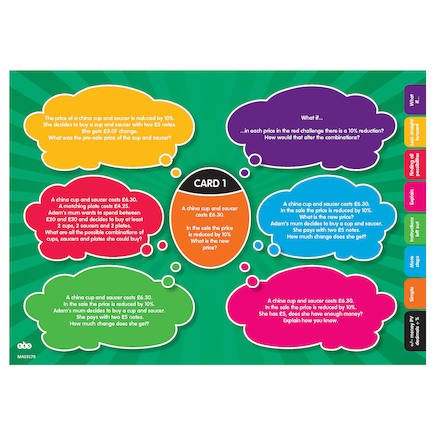 White Rose Maths Reasoning \x26 Problem Solving Kit  large