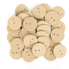 2 Hole Wooden Cam Wheels 4mm Hole 30pk  small