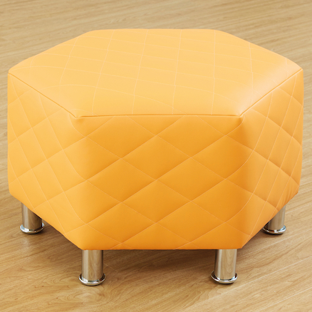Breakout Area Octagonal Quilted Stools 4pk  large