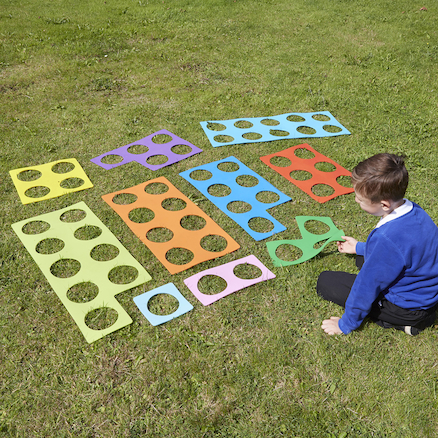 Giant Outdoor Number Frames  large