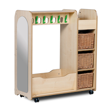 PlayScapes Mobile Wooden Dressing Up Trolley  medium