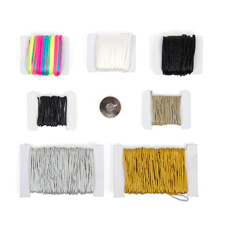 Assorted Jewellery Threading Cord 8pk  large