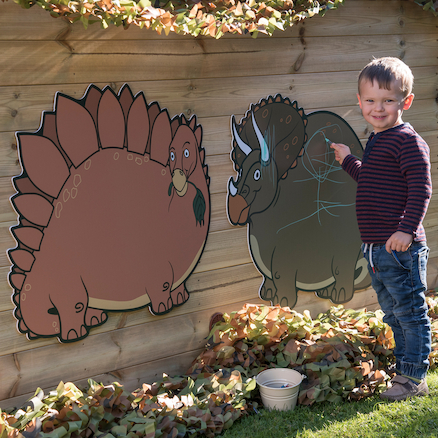 TTS Outdoor Dinosaur Chalkboards  large