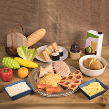 Role Play Lunch Food Set  medium