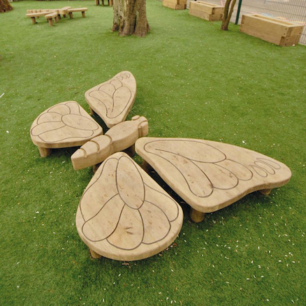 Outdoor Wooden Butterfly  large