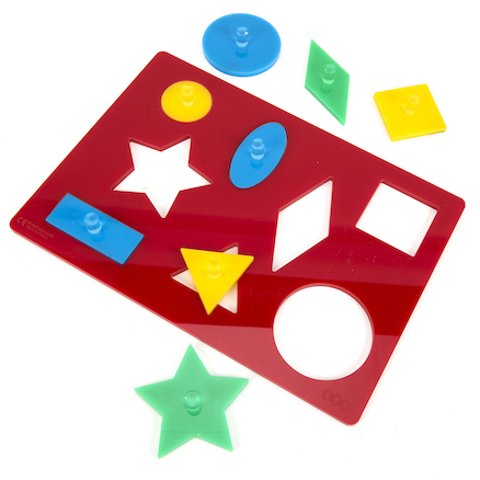 Lightbox Acrylic Shape Sorter Board  large