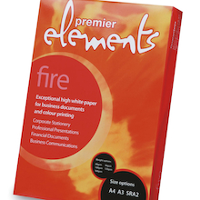 Elements Fire Copier Paper 100gsm  medium