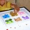 Clear Acrylic Lightbox Sorting Tray and Pots  small
