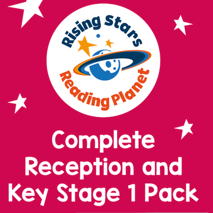 Reading Planet Complete Reception and KS1 Pack  large