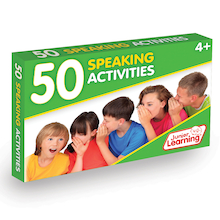 50 Speaking Activity Cards  medium