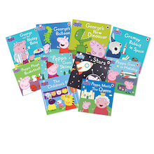 Peppa Pig Book Pack  medium