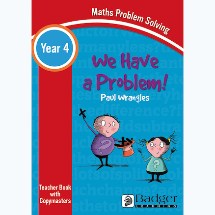 We Have a Problem! Maths Problem Solving Teacher Book and CD KS2  large