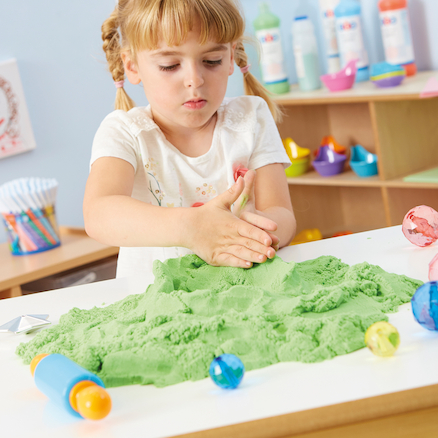 Coloured Kinetic Sand 2.3kg  large