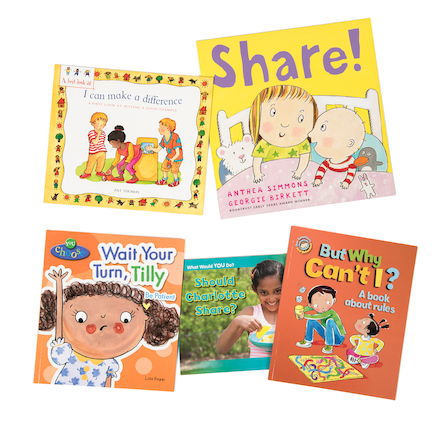 KS1 and KS2 Citizenship Books 5pk  large