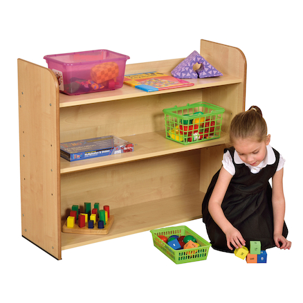 Open Storage Bookcase  large