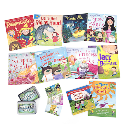 Telling Tales Books and Activity Cards Kit  large