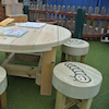 Bug Table and Five Stools  small