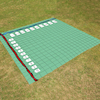 Outdoor Maths Coordinate Grid Carpet  small