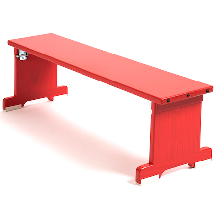 Folding Gymnastics Timber Bench  large