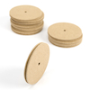 Wooden Pulleys 10pk  small