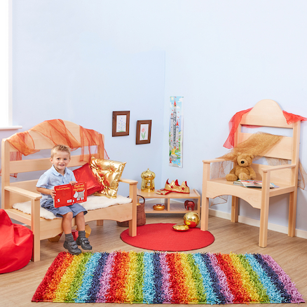 Fairy Tale Wooden Seating Unit  large