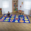 Fruit Rectangular Placement Carpet 3 x 2m  small