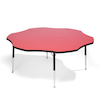 Height Adjustable Flower Classroom Table  small