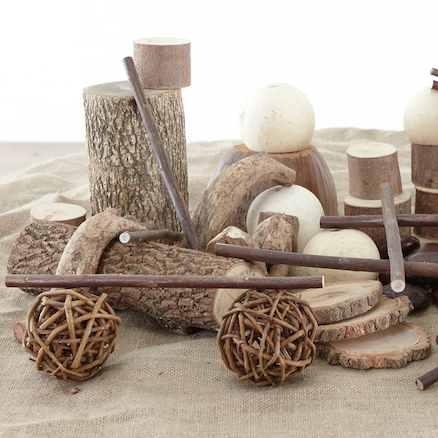 Natural Materials Wooden Collection  large