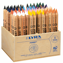 Lyra Ferby Colouring Pencils Assorted 96pk  medium