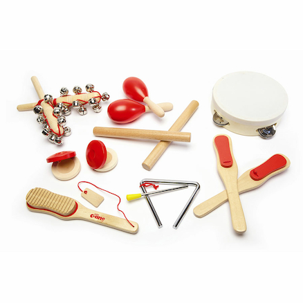 Musical Instruments Wooden Percussion Set 14pcs  large