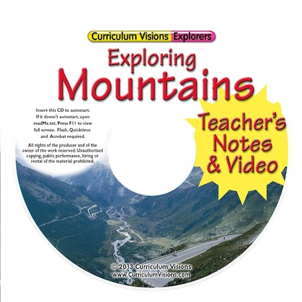 Exploring Mountains Book and CD  large