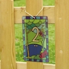 Stained Glass Window Number Panels PVC 1\-20  small