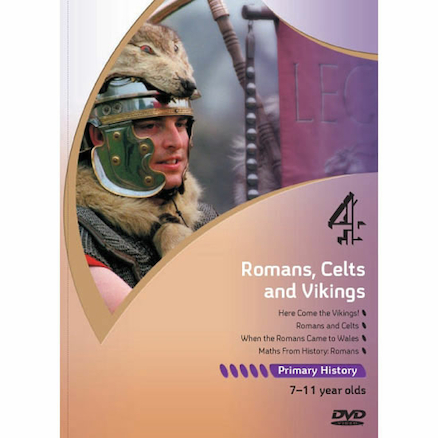 Romans Celts and Vikings DVD  large