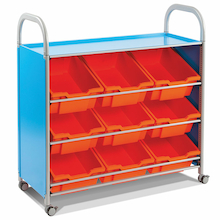 Callero Tilted Tray Trolley  medium