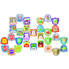Assorted Shaped Reward Stickers 750pk  small