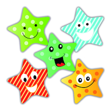 Scented Star Reward Stickers 250pk  medium