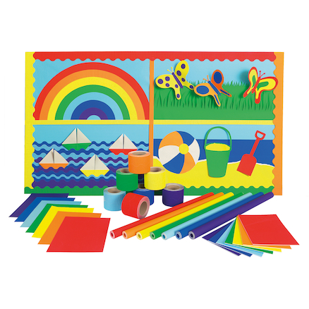 Rainbow Wall Display Bulk Pack  large