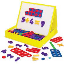 Rainbow Magnetic Numbers Kit 155pcs  medium