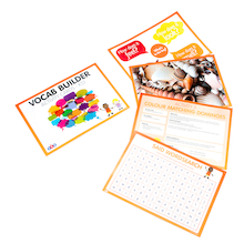 Vocabulary Builder Activity Cards  medium