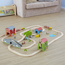 Small World Farm Themed Train Set  medium