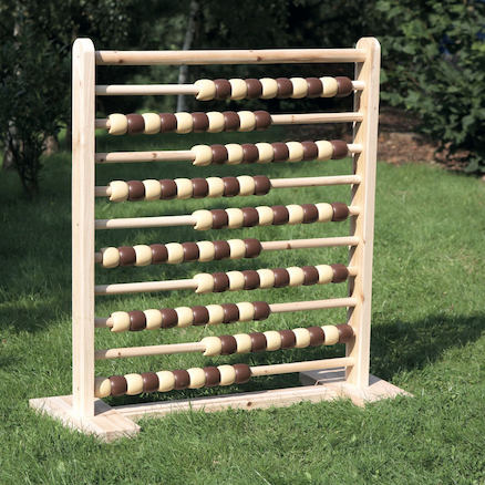 Giant Wooden Outdoor Abacus  large