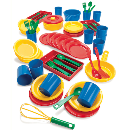 Bumper Plastic Role Play Dining Set  large