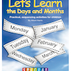 Lets Learn The Days And Months Activity Book  small
