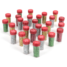 Glitter Shakers Assorted 18g 30pk  medium